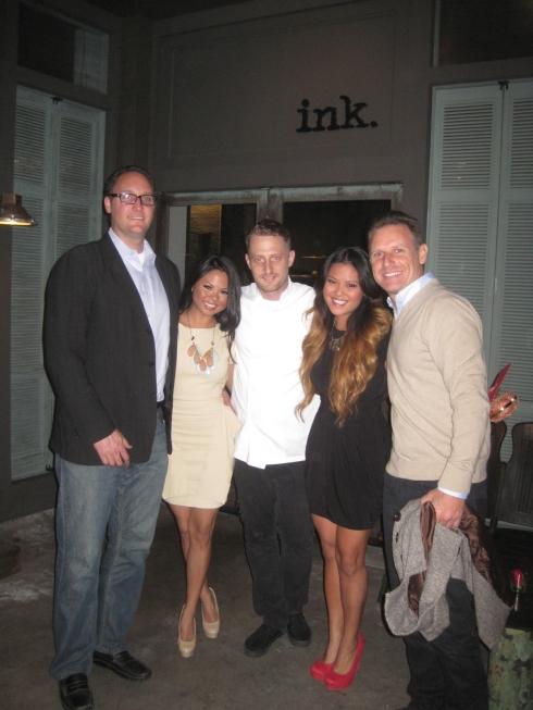 Chef Michael Voltaggio of Ink Restaurant in Los Angeles