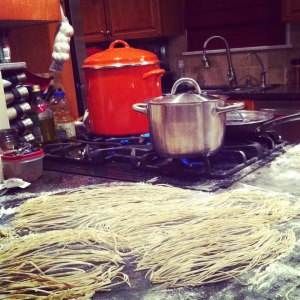 What a way to impress your friends by making them homemade pasta right in your kitchen! It's simple, too!